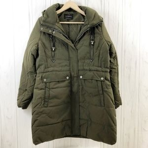 Lucky Brand Faux Shearling Lined Hooded Parka